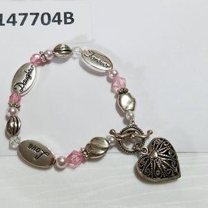 Bracelet Daughter, Love , Forever